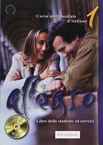 Allegro 1 libro dello studente ed esercizi + CD
