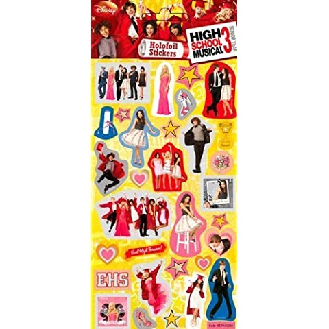 High School Musical 3 - Foil Sticker Pack - Sticker Style by Disney