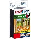 tesa Insect Stop Moustiquaire à ouverture et fermeture aisées Open / Close