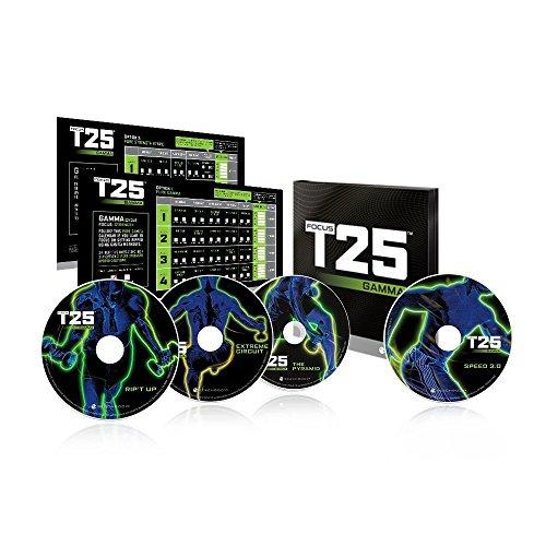 Shaun T's FOCUS T25 GAMMA Phase DVD Workout