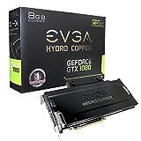 EVGA GeForce GeForce GTX 1080 08G-P4–6299-kr8GB FTW Hydro Kupfer Gaming Grafikkarte–Schwarz