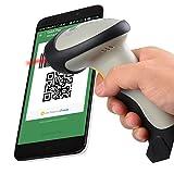 firefly1989® CT10 sans fil Bluetooth code barre portable Scanner USB Scanneur codes barres pour Android/iOS/Windows XP / 7 / 8, scanner laser de code-barres pour iPhone/iPad/Samsung Galaxy Tablet/tablette(CT10 sans fil)
