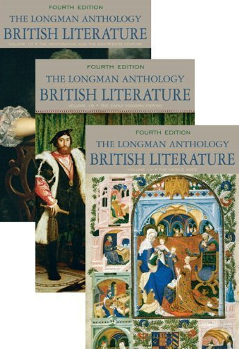 Longman Anthology of British Literature, The, Volumes 1A, 1B, and 1C, Plus MyLiteratureLab -- Access Card Package (4th Edition) by David Damrosch (2014-08-14)