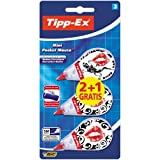 Tipp-Ex Mini Pocket Mouse Korrekturroller 2+1Gratis