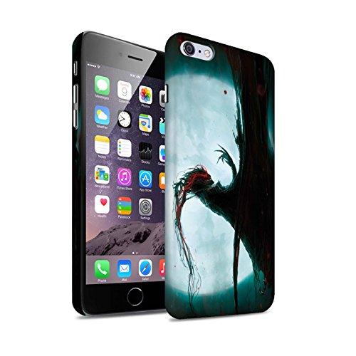 Offiziell Chris Cold Hülle / Matte Snap-On Case für Apple iPhone 6+/Plus 5.5 / Dramargu/Vollmond Muster / Dämonisches Tier Kollektion Dramargu/Vollmond