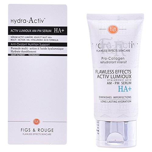 Figs & Rouge Hydra-Activ Activ Lumioux Serum HA+ Traitement du Visage