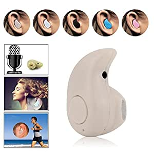Efanr® Invisible in Ear Ultra-Small Sports Wireless Bluetooth 4.0 Stereo Headset Mini Earphone Earpiece Earbud Headphone with Microphone Hands-free Calling for iPhone 6 Plus 6 5 5S 5C 4 4S, iPad 4 3 2 Air 2 Mini 3 2, Sams