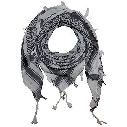 Superfreak Palituch - Smilers weiß - schwarz - 100x100 cm - Pali Palästinenser Arafat Tuch - 100{77a41921e1a742da7aa88de33fc5fe6e02f90097deecf993c956ec8c5e61c5f9} Baumwolle