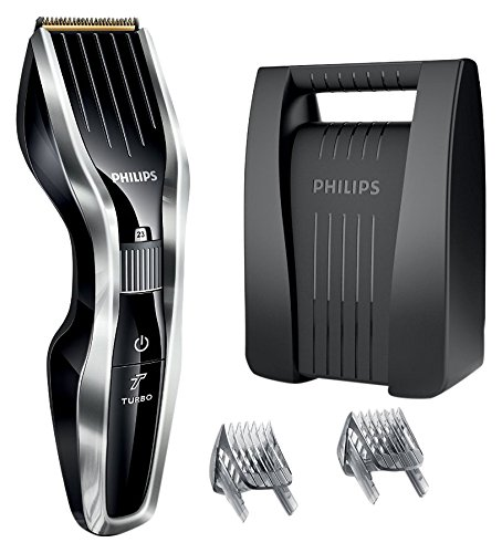 Philips HC5450/80 - Cortapelos con cuchillas de titanio y maletín, tecnología...