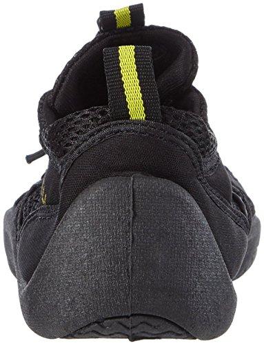 McWell Unisex Schwimmschuhe schwarz/gelb