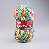 ROLLER Wolle TWISTER MONZA COLOR - neon-bunt - 200g