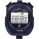 Cronometro Digital, Cronometro/ Cronómetro Deportivo con 3 filas de 30 Cuenta Vueltas, Alarma
