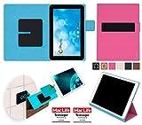 reboon Hülle für Blaupunkt Endeavour 1000 WS Tasche Cover Case Bumper | in Pink | Testsieger