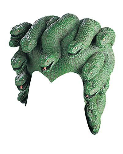 Horror-Shop Medusa Kopfschmuck mit Schlangen