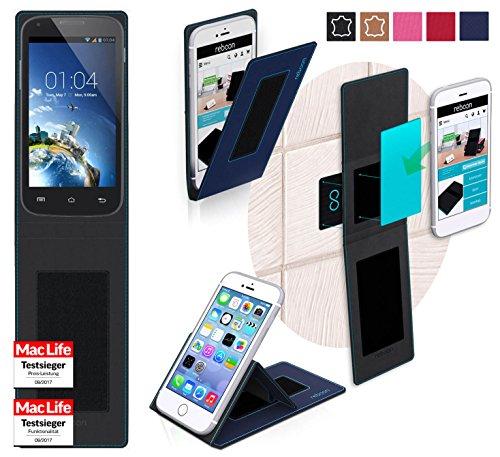 reboon Hülle für Kazam Trooper 2 4.0 Tasche Cover Case Bumper | Blau | Testsieger