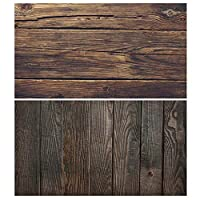 YFairy Backdrop Paper 56x88cm Double Sides Wood Grain Cement Wall Vintage Photography Background Backdrop Paper Board Prop for Food