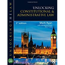 Unlocking Constitutional and Administrative Law (Unlocking the Law) by Mark Ryan (2014-07-09)