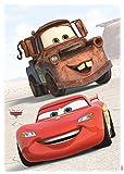 Komar - Disney - Deco-Sticker CARS FRIENDS - 50x70cm - Wandtattoo, Wandsticker, Wandaufkleber, Wandbild, Auto, Rennauto, Lightning McQueen -14015h