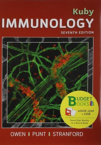 Immunology (Loose Leaf) & LaunchPad 6 Month access card Seventh edition by Owen, Judy (2014) Hardcover