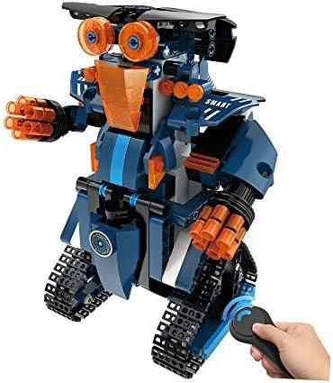 DUCKTOYS DIY Assemblé À TélécomFemmede TélécomFemmede TélécomFemmede Robot, 2.4 G Four-Way Assemblé Électrique 349PCS Bloc De Construction Robot Ensemble,  s Jouets Éducatifs Cadeau | Promotions  281916