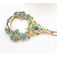 Preisvergleich für CPSH Halskette Lupe Metall angekettet Lupe Spezielle Tragbare Lupe HD Geschenk