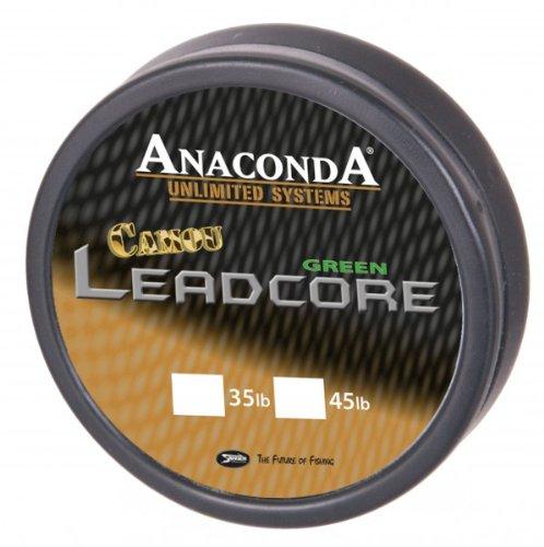Anaconda Camou Leadcore (10m), Tragkraft:45lbs;Farbe:Camou Brown