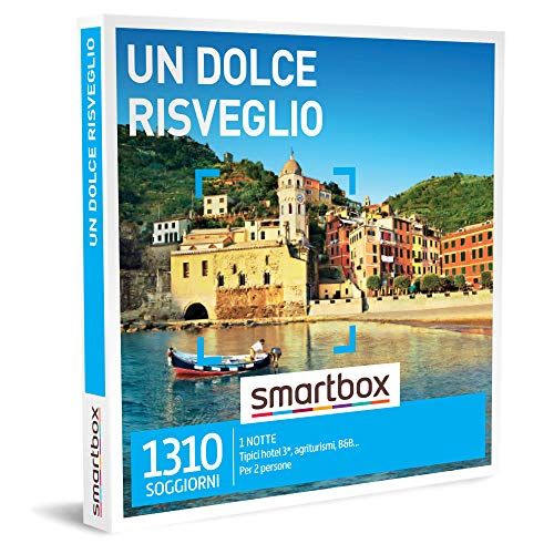 Smartbox - Un dolce risveglio Cofanetto Regalo Soggiorni Un soggiorno di 1 notte per 2 persone