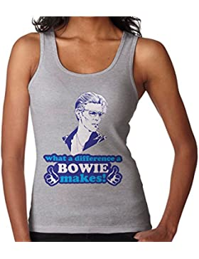 What A Difference A Bowie Makes Women's Vest