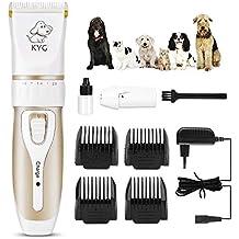 Cortapelos para Perros/Mascotas eléctrico bajo Ruido y vibración - Kit de cortapelos Profesional/