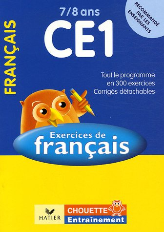 Français CE1 7/8 ans : Exercices de base