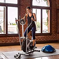 ‏‪EWORLD® Health & Fitness Orbitrack Exercise Bike four arms for Losing Weight‬‏