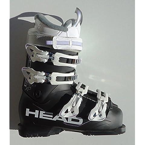 Head Next Edge XP W–Botas de esquí para mujer, color blanco y negro, tamaño 24