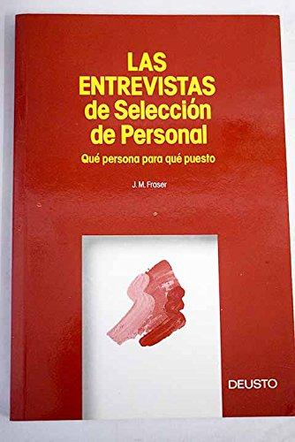 Entrevistas De Seleccion De Personal,Las