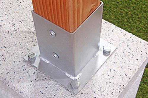 Gah alberts supporto palo da avvitare per pali di legno