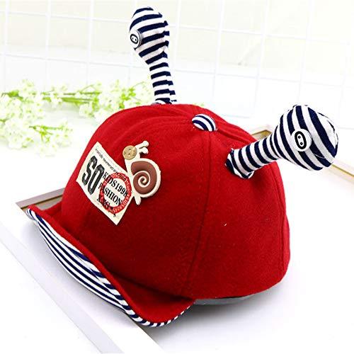tlang Hut, Baby Nest Bulle Hut, Cartoon Wollmütze Im Freien Warmen Jungen Mädchen Hut,Red ()