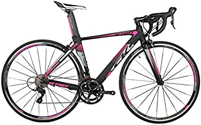 Rico Bit® R780cambios 9de bicicleta de carretera (18velocidades casete Ultra ligera de fibra de carbono tenedor Shimano 3500700C * 46/48cm colores disponibles