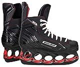 tblade Schlittschuhe Bauer Black NS t-Blade Freestyle Schlittschuhe Eislaufen