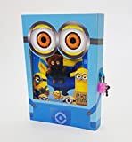 Best New Kids Books - Cartoon Minion Despicable Me 3 Kids Diary Book Review