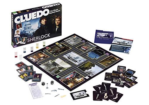 Cluedo Sherlock - Juego de Mesa en inglés