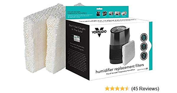 Vornado MD1 0002 Replacement Humidifier Wick Filters, 2 pk