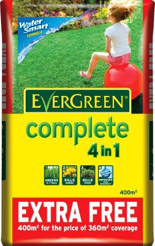 Evergreen complet pour gazon, y compris 10% sans