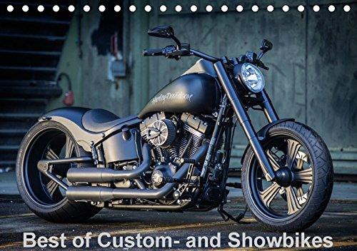 Best of Custom- and Showbikes Kalender (Tischkalender 2017 DIN A5 quer): Exklusive Custombikes von Rick´s Motorcycles (Monatskalender, 14 Seiten) por Volker Wolf