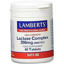 Lamberts Complejo de Lactasa 200mg - 60 Tabletas