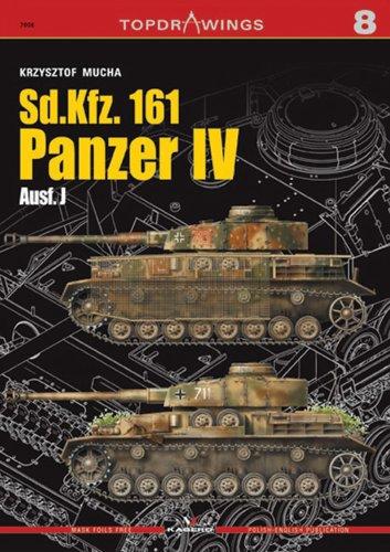 Sd.Kfz.161 Panzer Iv Ausf.J: 8 (Top Drawings) por Krzysztof Mucha