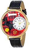 Whimsical Watches Unisex G0130067 Scottie Black Leather Watch best price on Amazon @ Rs. 1276