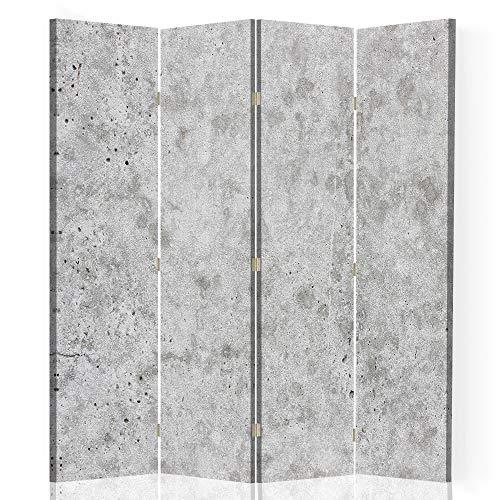 Feeby Separador de Espacios Abstracción 4 Paneles 360° Mármol Piedr