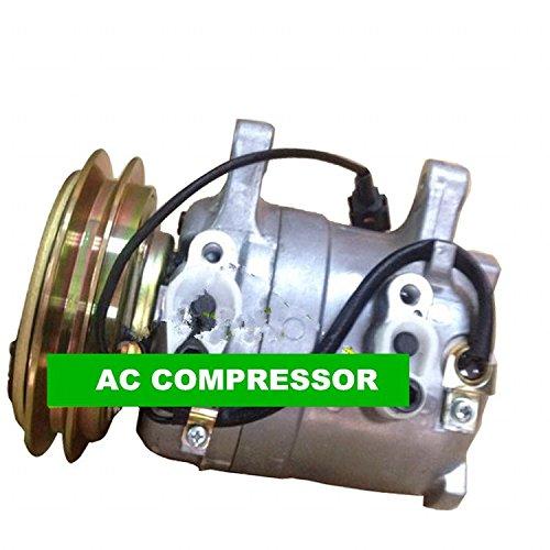 Gowe AC Kompressor mit Kupplung passt für carnissan 720D21Pick Up 2.0L 2.4L 2.5L 2511NC 1985-1997 - Mit Kupplung Kompressor Ac