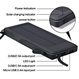 GrandBeing®10000mAh solar power bank