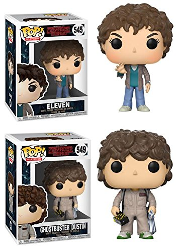 Funko Pop! Stranger Things - Set Eleven + Dustin Ghostbuster