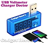 Best The Case Doctor iPhone 4 Battery Cases - Gadget Hero's USB Charger Doctor, Current Voltage Meter Review